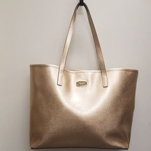 Michael Kors Brushed Gold Tote